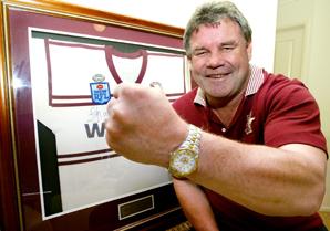 Manly Sea Eagles legend Graham Eadie
