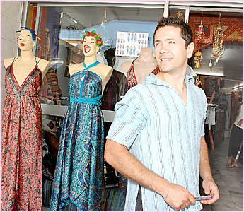 GOOD MOVE: David Kopman, outside his Carrington Street store, believes the idea of the%Economic Development Unit sounds promisi