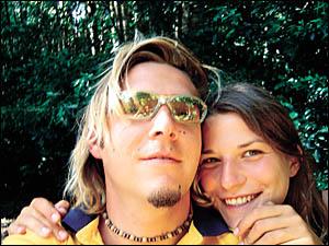 Tobias Suckfuell and Simone Strobel holidaying in Australia.