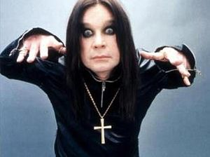Ozzy Osbourne: A face that scares his granddaughter