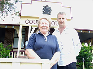 CAUGHT ON FILM: Margaret Liversage pleaded guilty to doing 103km/h past the 60km/h zone St Helena speed camera and had the char