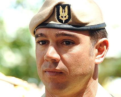 Doing what he loved ... Sergeant Matthew Locke. AAP/Defence