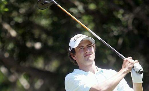 Adam Scott at the 2007 Hyatt Regency Coolum PGA Pro-Am day