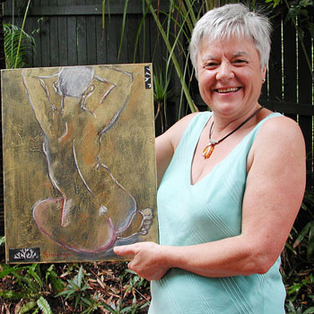 Don't miss the Totally Nude exhibition at Cooroy Butter Factory, closes this Sunday.