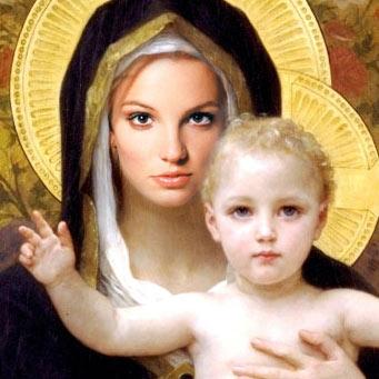Britney Spears cast as the Virgin Mary?