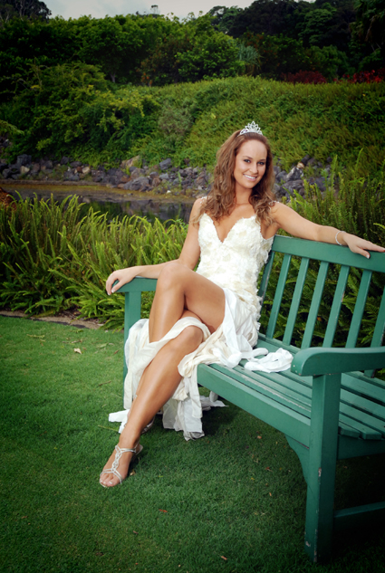 Shae Ryan was named winner of the People's Choice award at the 2007 Miss Teen Australia pageant. PHOTO: BRUCE THOMAS