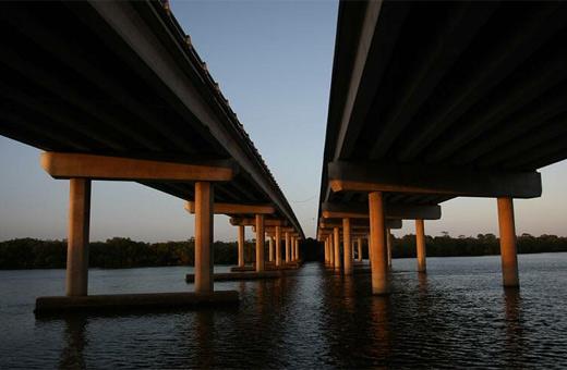 The Maroochy River bridge. Photo: Michaela O'Neill / 170970d
