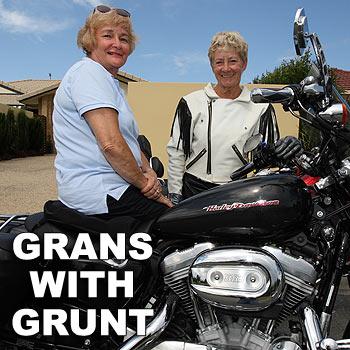 Geraldene O'Driscoll and Sheila Bowker love an adventure.