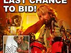 Don't miss your chance to bid on a Primitive surf board which was signed by Xavier Rudd during his recent show in Kawana.