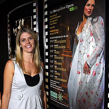 Lucinda Morley, promoting Opera screenings at the Noosa Cinema. Photo: Che Chapman