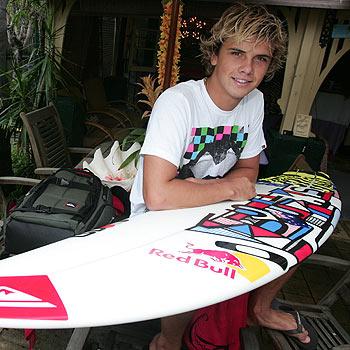 Coolum surfer Julian Wilson is heading to the World Pro Juniors at Narrabeen next week.  Photo: Barry Leddicoat/171370