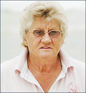 OUTRAGEOUS BILL: Margaret Howes.