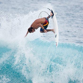 Sunrise Beach free-surfer Dean Brady in action. Photo: Rip Curl