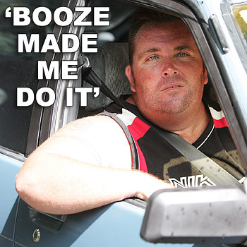 Jason Douglas outside the Mooloolah  property he has been given notice to leave.