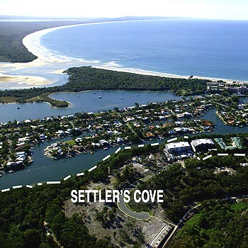 Noosa's landmark Settler's Cove development is proving a sell out success with stage one gone and 70% of stage two, which has only just been released, sold.