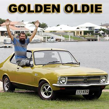 Doug Allen shows off his 1969 Holden Torana GTR XU1. Photo: Chris McCormack/cm172061e