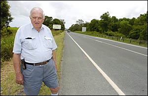 HYPNOTIC: Ballina inventor John MacGregor believes he has found the key to avoiding micro-sleep related car accidents. Picture: