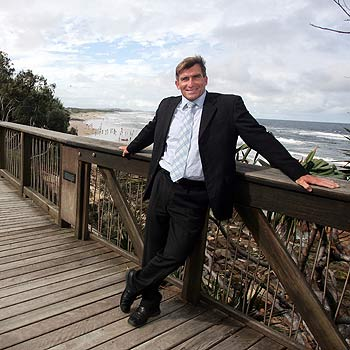 Bruce Dunne says he's insulted by suggestions that Coolum should become more like Noosa.