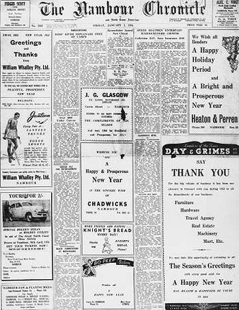 The first 50 years of the Nambour Chronicle, the fore-runner to the Sunshine Coast Daily, is now available online as part of a Queensland first digital newspaper project.
