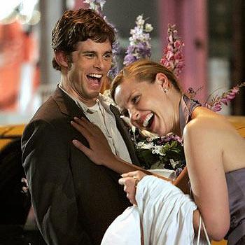 Katherine Heigl stars in the new romantic comedy, 27 Dresses.