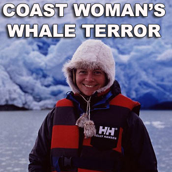 Chantal Henderson is currently on board the Sea Shepherd anti-whaling ship named after Steve Irwin. She has told of how the boat she was in flipped in waters off Antartica.