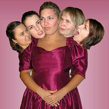 Five Women Wearing the Same Dress is the 2008 season opener at Lind Lane.