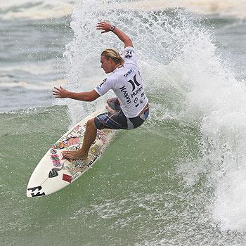 Peregian Beach surfer Jasper Endersby competes in the Hurley Burleigh Pro Junior. Photo: Jake White/Surfing Queensland