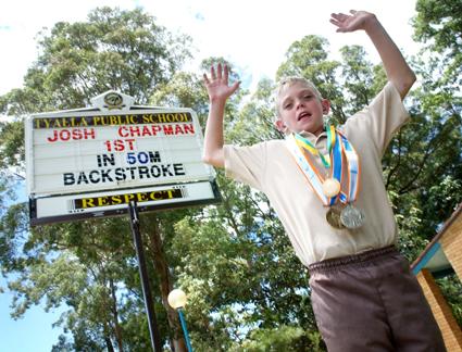 Josh Chapman is breaking more records.