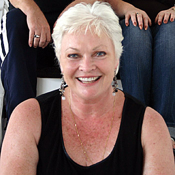 Actress Rowena Wallace has moved to Nambour.