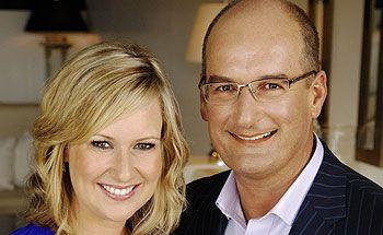 Sunrise's Melissa Doyle and David Koch.