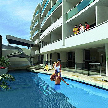 Dolphin Suites in Caloundra offers serenity, privacy and peace of mind for investors.
