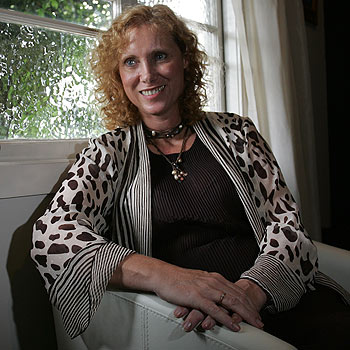 Cathy Cleary is a psychologist, who helps treat people for stress, anxiety and depresseion. Photo Brett Wortman 172297b