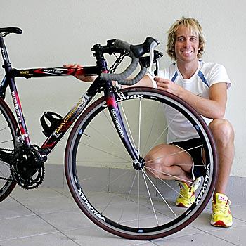 07/02/08 Triathlete Adam Fitzakerley