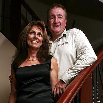 TRAC Consulting directors Jeanette and Mark Jones. Photo Kari Bourne/ kb172586a