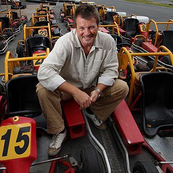 Big Kart Track owner Ferre De Deyne admits he is an adrenaline freak. Photo: Nicholas Falconer / 172602
