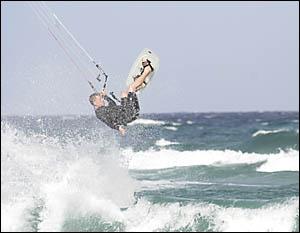UP IN THE AIR: Stephan Kleinlein