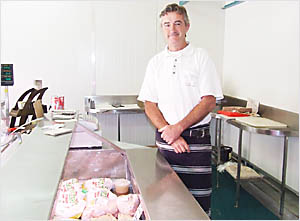 DIFFERENT FEEDBACK: John Garrett, of Wholly Smoked Organic Foods in Byron Bay, is surprised at Choice taste test results.