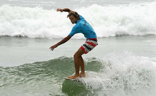Jacob Stuth at a previous Noosa Festival of Surfing.