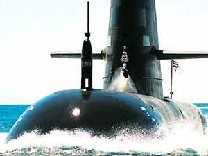 Submarine hopes drowned with German loss
