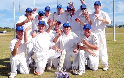 Victors . . . Sawtell won the Northern Districts cricket competition at the weekend.