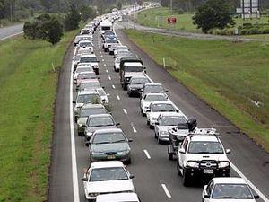 Bruce Hwy nightmare: 45km of congestion, multi-vehicle crash
