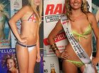 Georgina and Jessie: Representing the Sunshine Coast at the final of the Ralph Australian Swimwear Model of the Year contest.