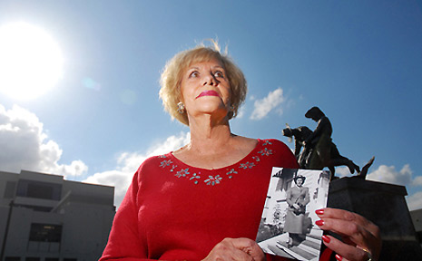 Trudy Miosge will be unveiling a plaque dedicated to nurses at this year's ANZAC Day celebrations.