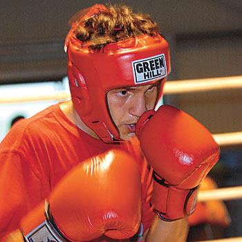 Boxer Paul Fleming is going to Beijing.  Photo Warren Lynam