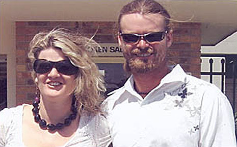 Tania and Glenn Hull.