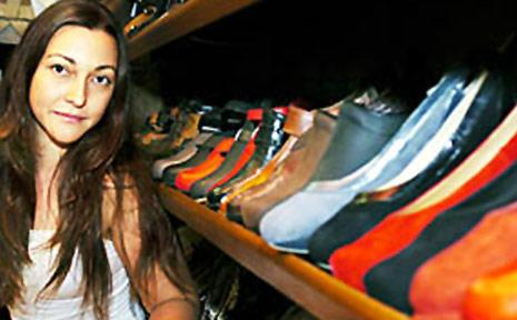 Crystal Solomon Le Bars from Sole Bros Footwear, Byron Bay.
