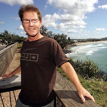 Peter Fries laps up the Sunshine Coast lifestyle. Photo: Chris McCormack/174408