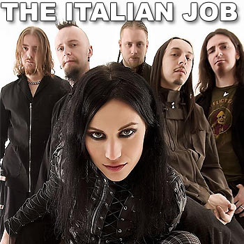 Italy's Lacuna Coil: Hot metal headed for Aussie shores in June.