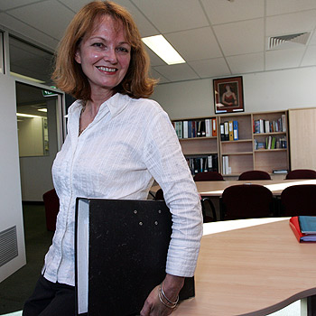 Sunshine Coast Regional Council's director of organisation development, Dawn Maddern, is not surprised by the findings of a recent study that revealed women make better managers than men. Photo: Chris McCormack/175551