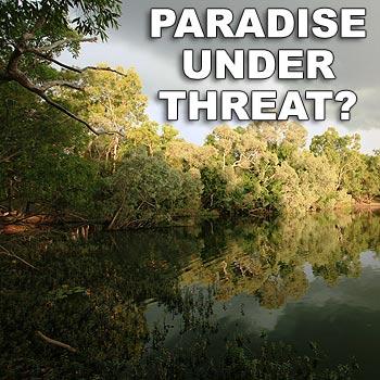 The Steve Irwin Wildlife Reserve includes irreplaceable waterways and unique biodiversity, according to Australia Zoo's Terri Irwin. Photo: Peter Taylor